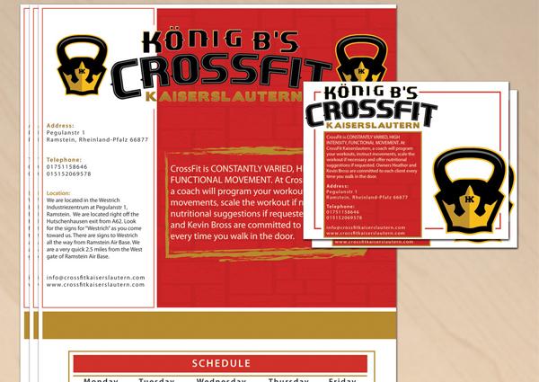 Crossfit Flyer