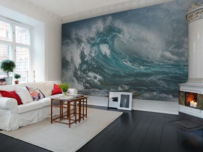 Mural de pared R10131 Wave imagen 1 por Rebel Walls