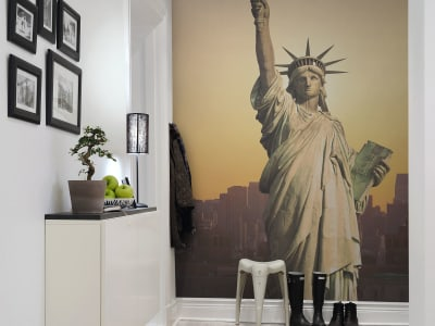 Mural de pared R10651 Statue of Liberty imagen 1 por Rebel Walls