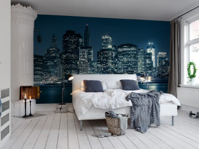 Wall Mural R10681 Big Blue Apple image 1 by Rebel Walls