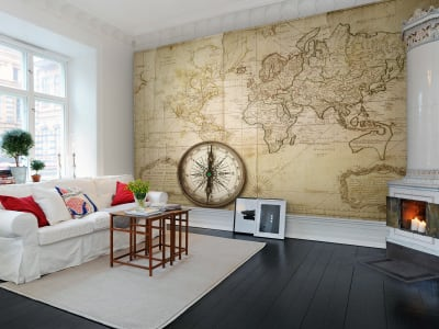 Wall Mural R10761 Du Globe Terres image 1 by Rebel Walls