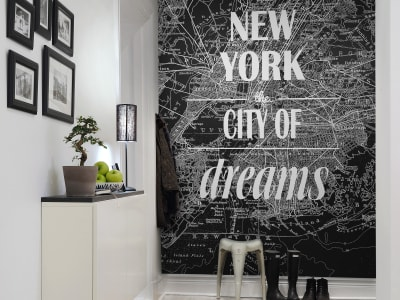 Mural de pared R10901 Map of Dreams imagen 1 por Rebel Walls