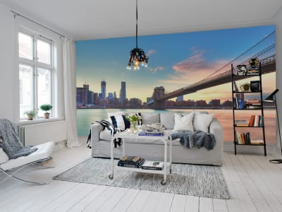 Mural de pared R11391 East River imagen 1 por Rebel Walls