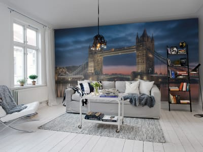 Mural de pared R11641 Tower Bridge imagen 1 por Rebel Walls