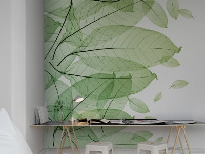 Mural de pared R12201 Foliage imagen 1 por Rebel Walls