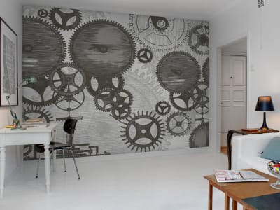 Wall Mural R12271 Cogwheel image 1 by Rebel Walls