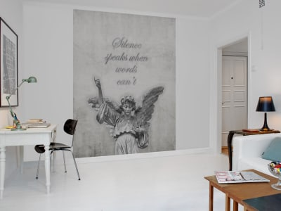 Mural de pared R12371 Angel, concrete imagen 1 por Rebel Walls