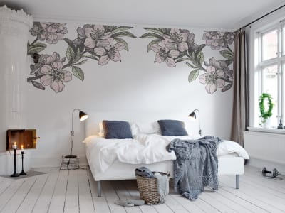 Mural de pared R12653 Springtime Double imagen 1 por Rebel Walls