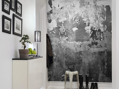 Mural de pared R12771 Charcoal imagen 1 por Rebel Walls