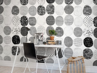 Mural de pared R50103 Surface Dots imagen 1 por Rebel Walls