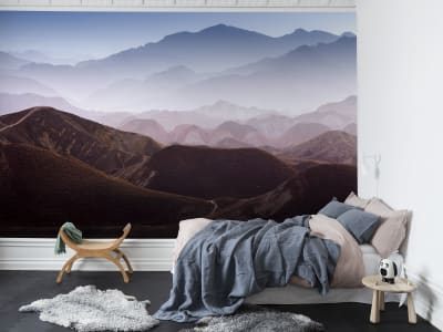 Mural de pared R13281 Gradient Mountains imagen 1 por Rebel Walls