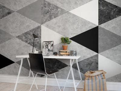 Tapete R13351 Geometric Marble Bild 1 von Rebel Walls