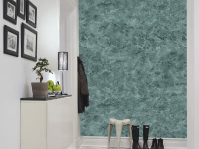 Mural de pared R13373 Marble, green imagen 1 por Rebel Walls