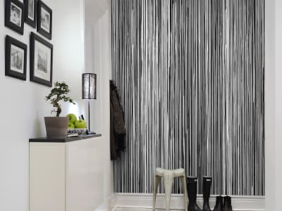 Фотообои R13482 Colour Stream, black изображение 1 от Rebel Walls