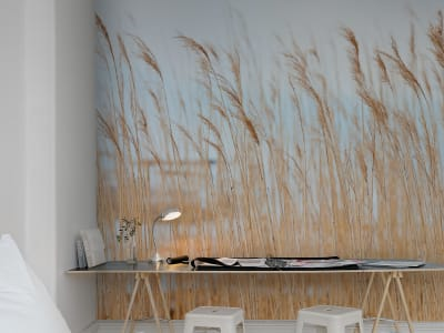 Mural de pared R13601 Swaying Wheat imagen 1 por Rebel Walls