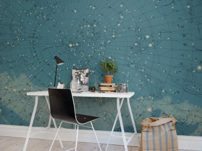 Mural de pared R13811 Atlas Of Astronomy imagen 1 por Rebel Walls