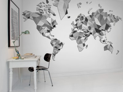 Wall Mural R13892 Triangle Land, Graphic image 1 by Rebel Walls