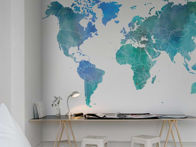 Mural de pared R13923 Your Own World, Color Clouds imagen 1 por Rebel Walls