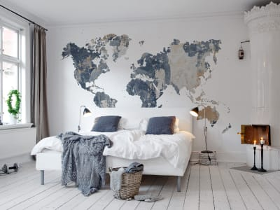 Tapet R13924 Your Own World, Battered Wall bilde 1 av Rebel Walls
