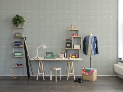 Wall Mural R14112 Perfect Fit, Mint Green image 1 by Rebel Walls
