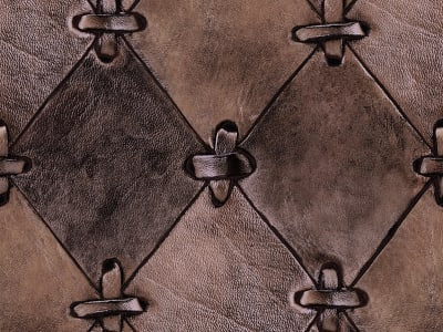 Tapete R14122 Leather Rhombs, Vintage Bild 1 von Rebel Walls