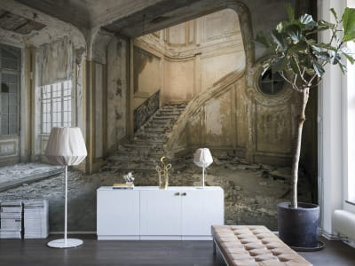 Décor Mural R14341 Raw Chateau image 1 par Rebel Walls