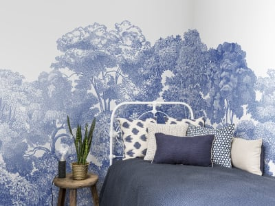 Wall Mural R13055 Bellewood, Porcelain Toile image 1 by Rebel Walls