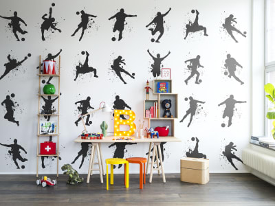 Mural de pared R13261 Footboll imagen 1 por Rebel Walls