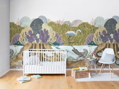 Wall Mural R14451 Wild Willows image 1 by Rebel Walls