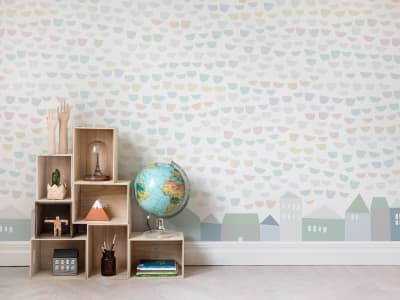 Wall Mural R14491 Elephant Tears, Pastel image 1 by Rebel Walls