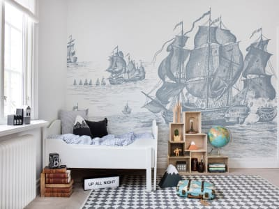 Tapet R14502 High Seas bild 1 från Rebel Walls