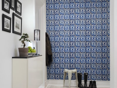 Mural de pared R14865 Artisan Tiles imagen 1 por Rebel Walls