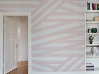 Mural de pared R15142 Sailor's Sea, Pink imagen 1 por Rebel Walls