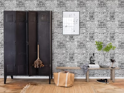 Tapet R15232 Decorated Bricks bilde 1 av Rebel Walls