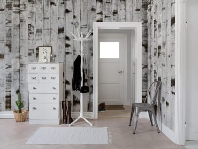 Tapet R15221 Metal Birch bilde 1 av Rebel Walls