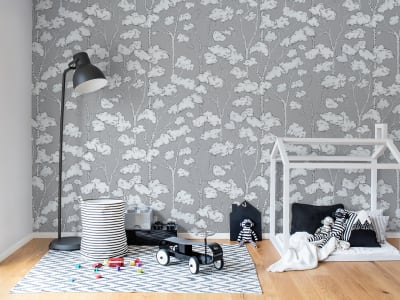 Tapet R15332 Animal Tree, Grey bilde 1 av Rebel Walls
