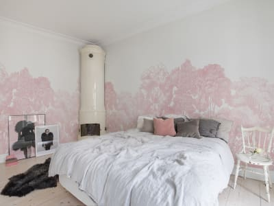 Wall Mural R13057 Bellewood, Pink image 1 by Rebel Walls