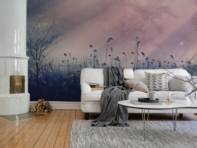 Mural de pared R15361 Pink Dawn imagen 1 por Rebel Walls
