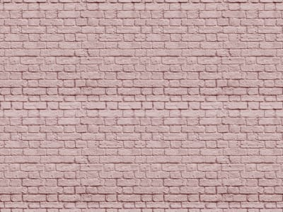 ミューラル壁紙 R14873 Soft Bricks, Pink 画像 1 by Rebel Walls