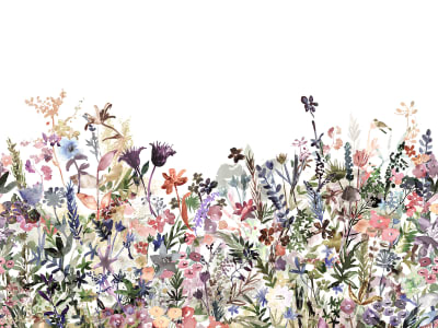 ミューラル壁紙 R14532 May Meadow, Pastel 画像 1 by Rebel Walls
