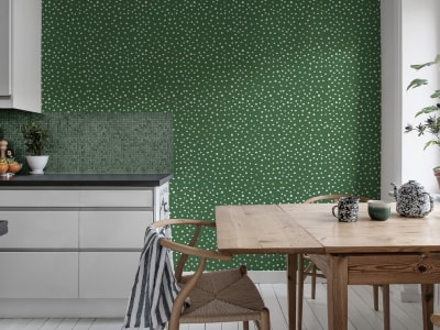 Tapet R15753 Rebel Dot, Basil bild 1 från Rebel Walls