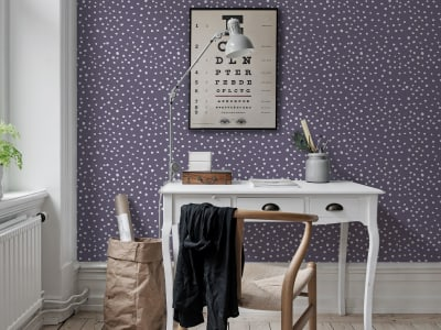 Wall Mural R15754 Rebel Dot, Violet image 1 by Rebel Walls