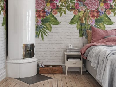 Mural de pared R15761 Flower Burst imagen 1 por Rebel Walls