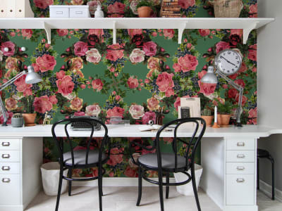 Mural de pared R15711 Floral Frida, Garden imagen 1 por Rebel Walls