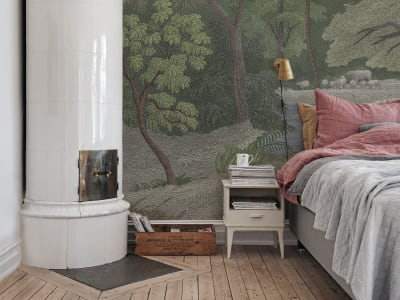 Wall Mural R14614 JUNGLE LAND, COLOR image 1 by Rebel Walls