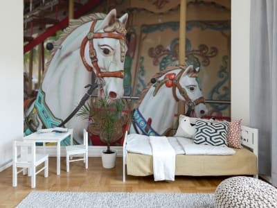 Wall Mural R11881 Carousel image 1 by Rebel Walls