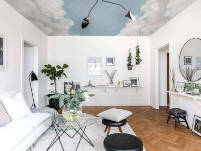 Mural de pared R14012 Cuddle Clouds, Ceiling imagen 1 por Rebel Walls