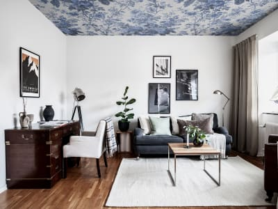 Tapete R13255 Porcelain, Blue Bild 1 von Rebel Walls