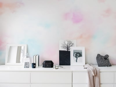 Mural de pared R15411 Coral Clouds imagen 1 por Rebel Walls
