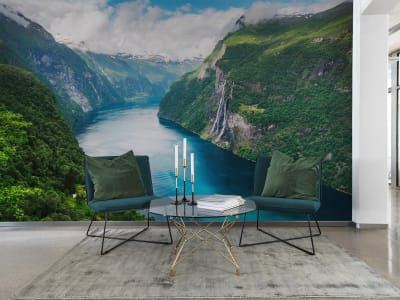 Wall Mural R16411 Fjord image 1 by Rebel Walls